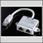 Doubleur RJ45 (Ethernet + Ethernet)