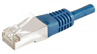 Cordon RJ45 Cat6a, FTP, surmoulé, Dexlan