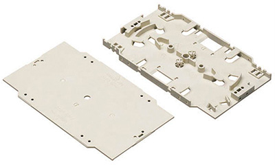 Cassette d'épissures pour 2 x 12 supports, Value