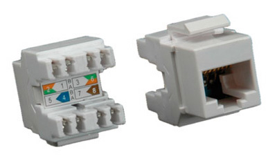 Connecteur RJ45 Cat6, non-blindé (UTP), Roline
