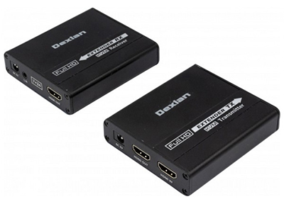 Exemple de prolongateur HDMI via RJ45