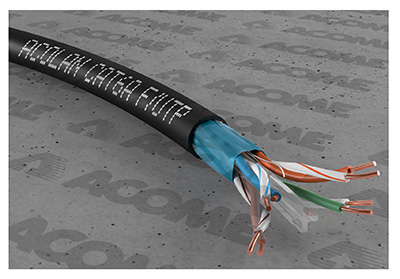 Câble Cat6a, monobrin, UTP, Value