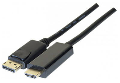 Câble DisplayPort 1.2 vers HDMI 2.0, TLC