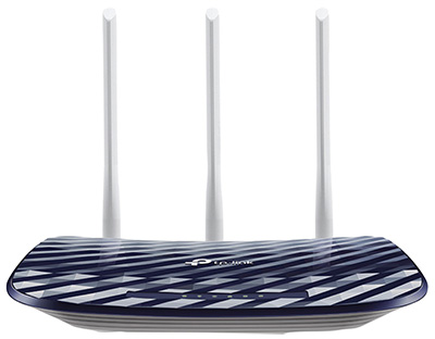 Routeur Wifi ac, 733 Mbit/s, 3 antennes, et switch Ethernet RJ45 10/100, Archer C20, TPLink
