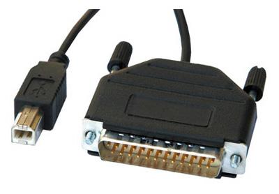 C ble convertisseur parall le db25 m le usb b m le par - Convertisseur port parallele vers usb ...